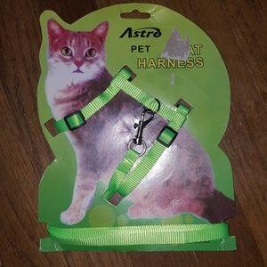 NWTCat harness & leash set
